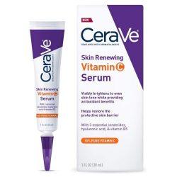Cerave skin renewing vitamin c serum with hyaluronic acid