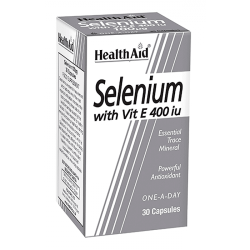 Health Aid Selenium 100ug With Vitamin E 400iu
