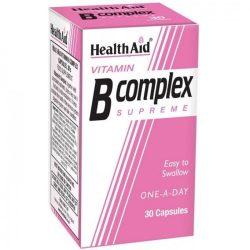 Health aid vitamin b complex supreme 30 capsules
