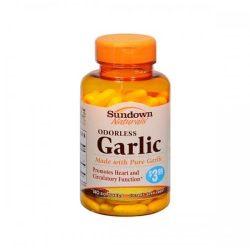 Sundown Naturals Odorless Garlic 140 Softgels
